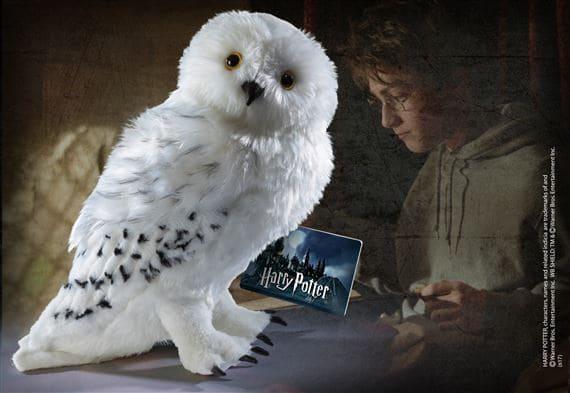 Gufo peluche Harry Potter